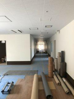 千葉県いすみ市の某現場のボード工事施工後