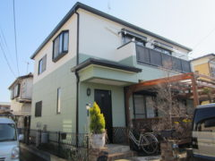 施工実績 外壁塗装 横浜市都筑区O様邸