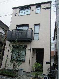 施工実績 外壁塗装 東京都大田区W様邸