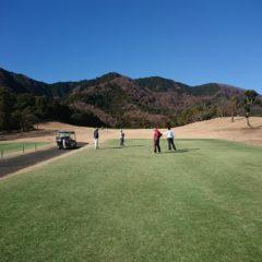 新年会ゴルフ